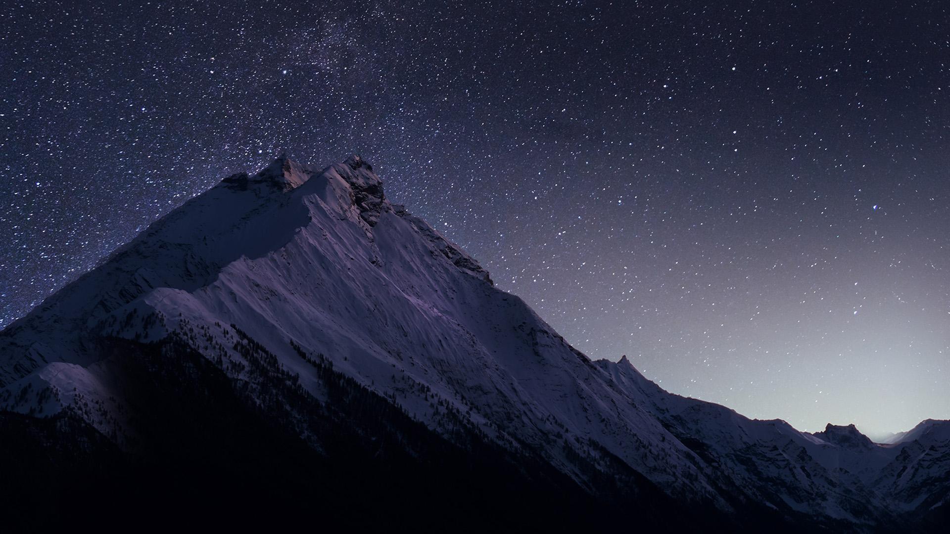 2560 x 1600 - Night mountain wallpaper 4k ...
