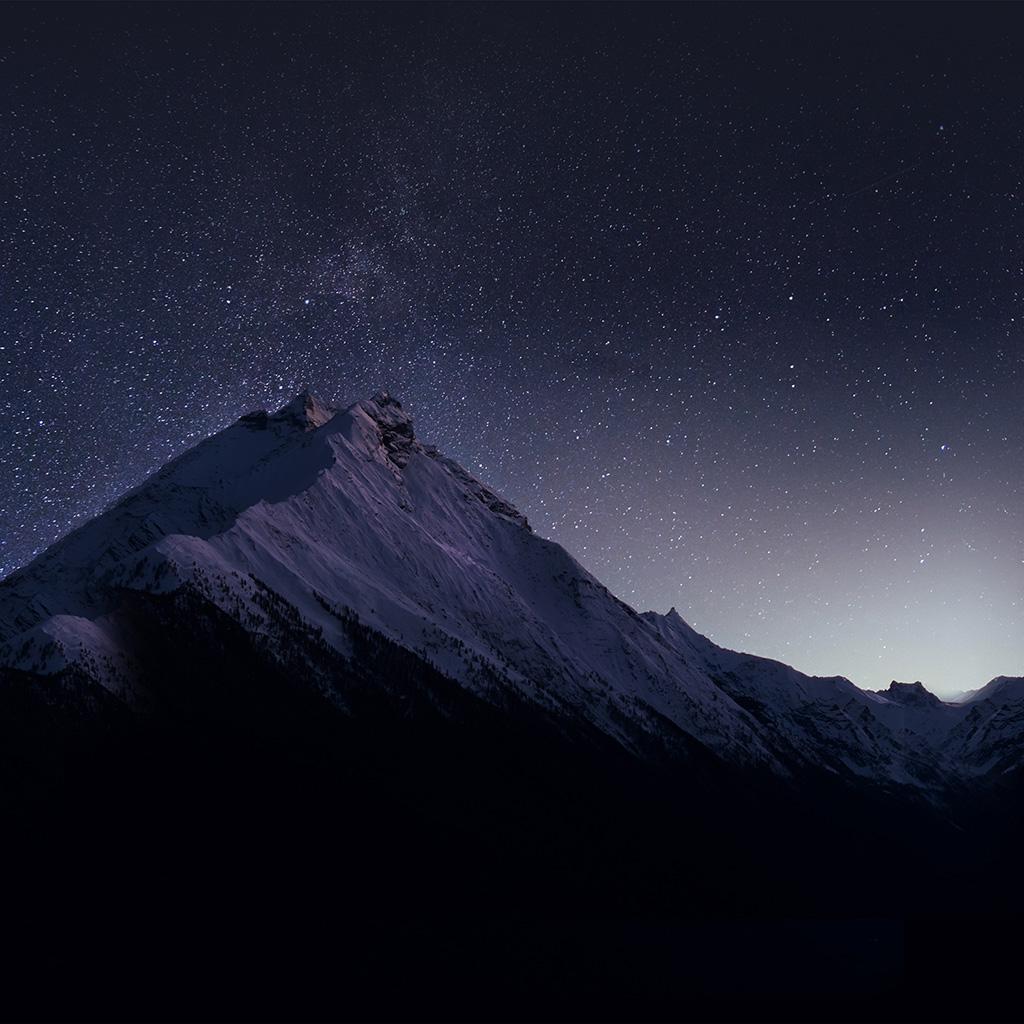stars mountain night - photo #20