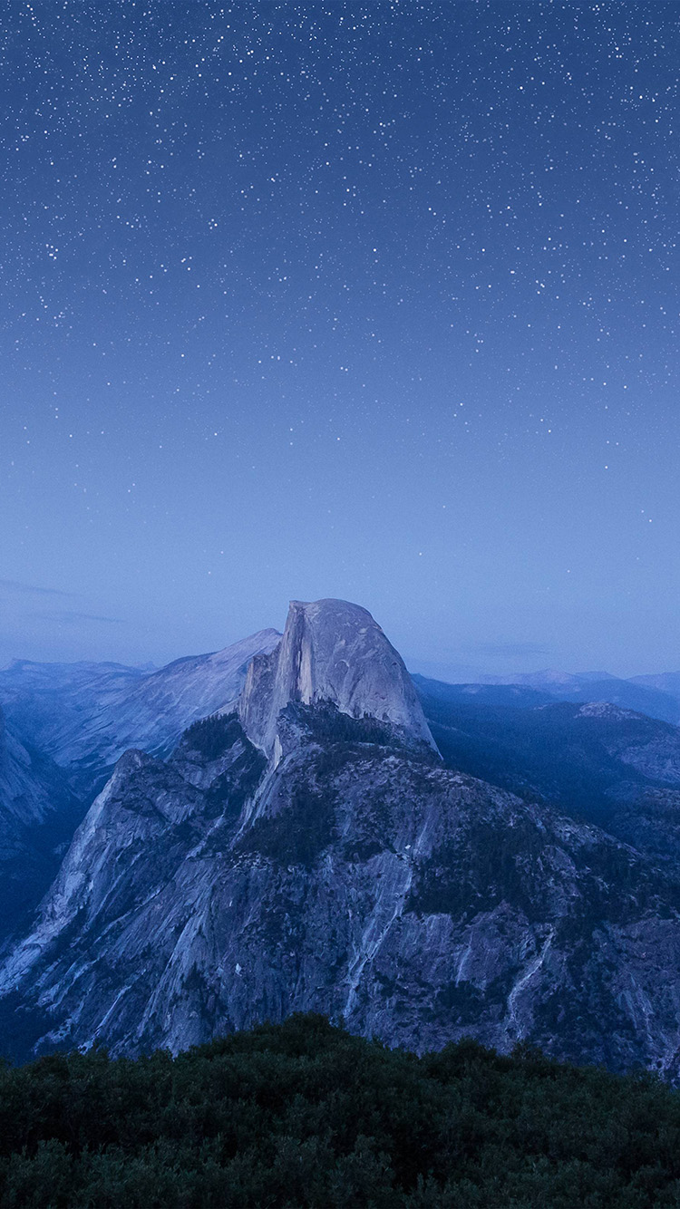 iPhone6papers.co-Apple-iPhone-6-iphone6-plus-wallpaper-mt93-starry-night-blue-summer-mountain-nature-awesome