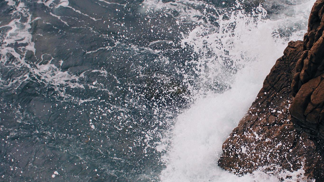 desktop-wallpaper-laptop-mac-macbook-airmu13-rock-wave-sea-ocean-nature-blue-wallpaper