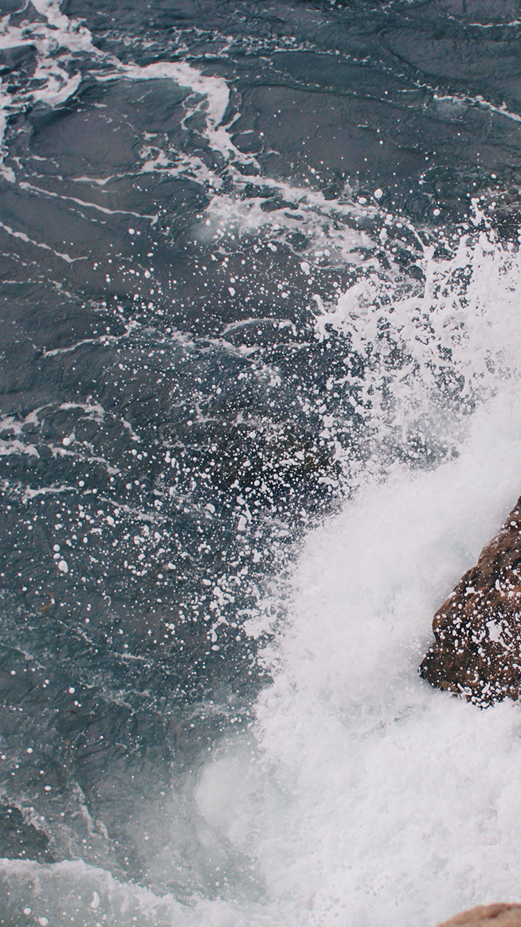 iPhonepapers.com-Apple-iPhone8-wallpaper-mu13-rock-wave-sea-ocean-nature-blue