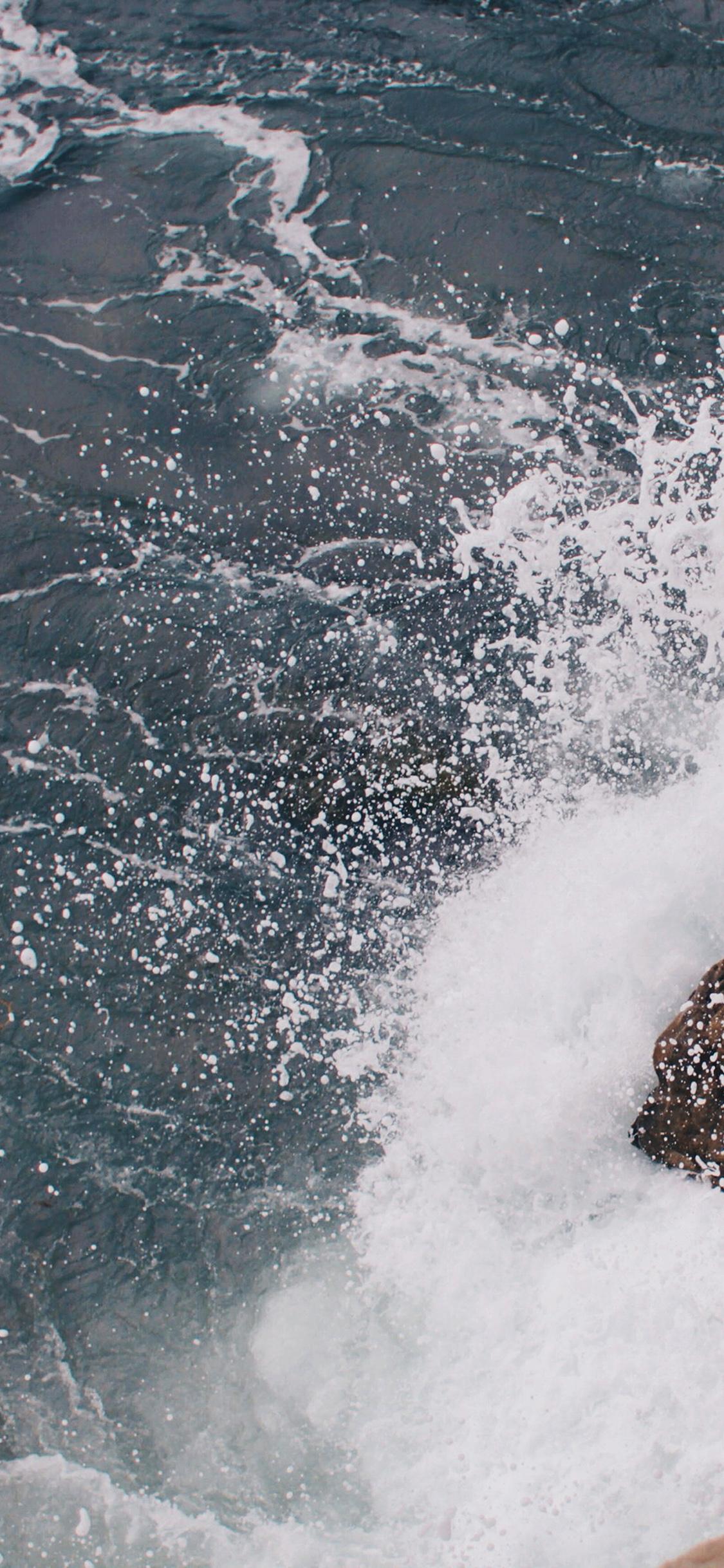 iPhoneXpapers.com-Apple-iPhone-wallpaper-mu13-rock-wave-sea-ocean-nature-blue