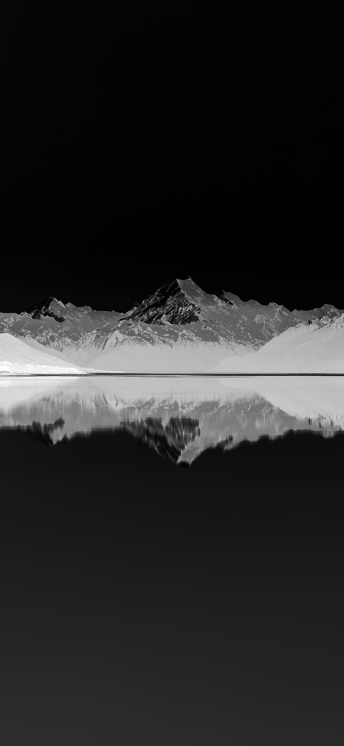 iPhonexpapers.com-Apple-iPhone-wallpaper-mu29-reflection-lake-blue-mountain-water-river-bw-dark