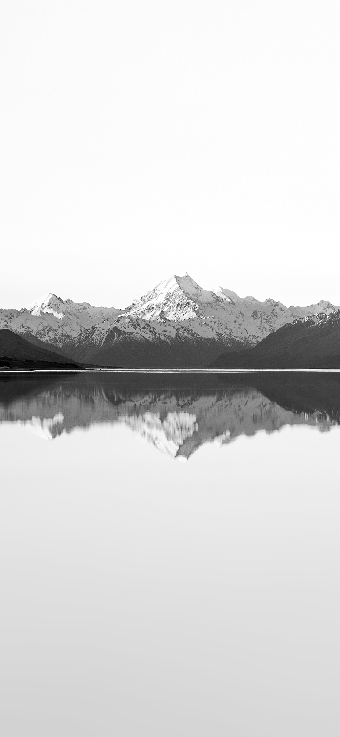 iPhoneXpapers.com-Apple-iPhone-wallpaper-mu30-reflection-lake-blue-mountain-water-river-bw-white