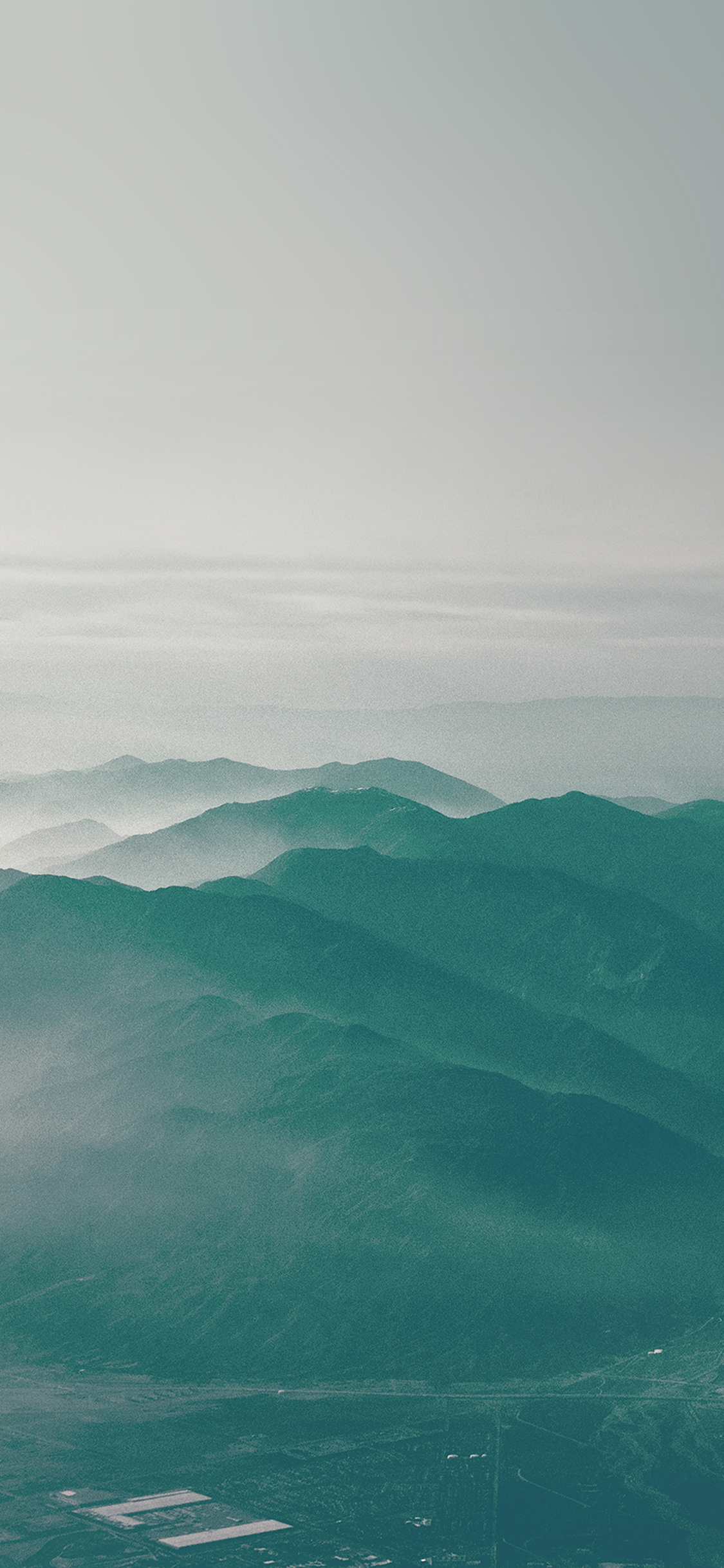 iPhoneXpapers.com-Apple-iPhone-wallpaper-mu44-mountain-fog-nature-green-flare-sky-view