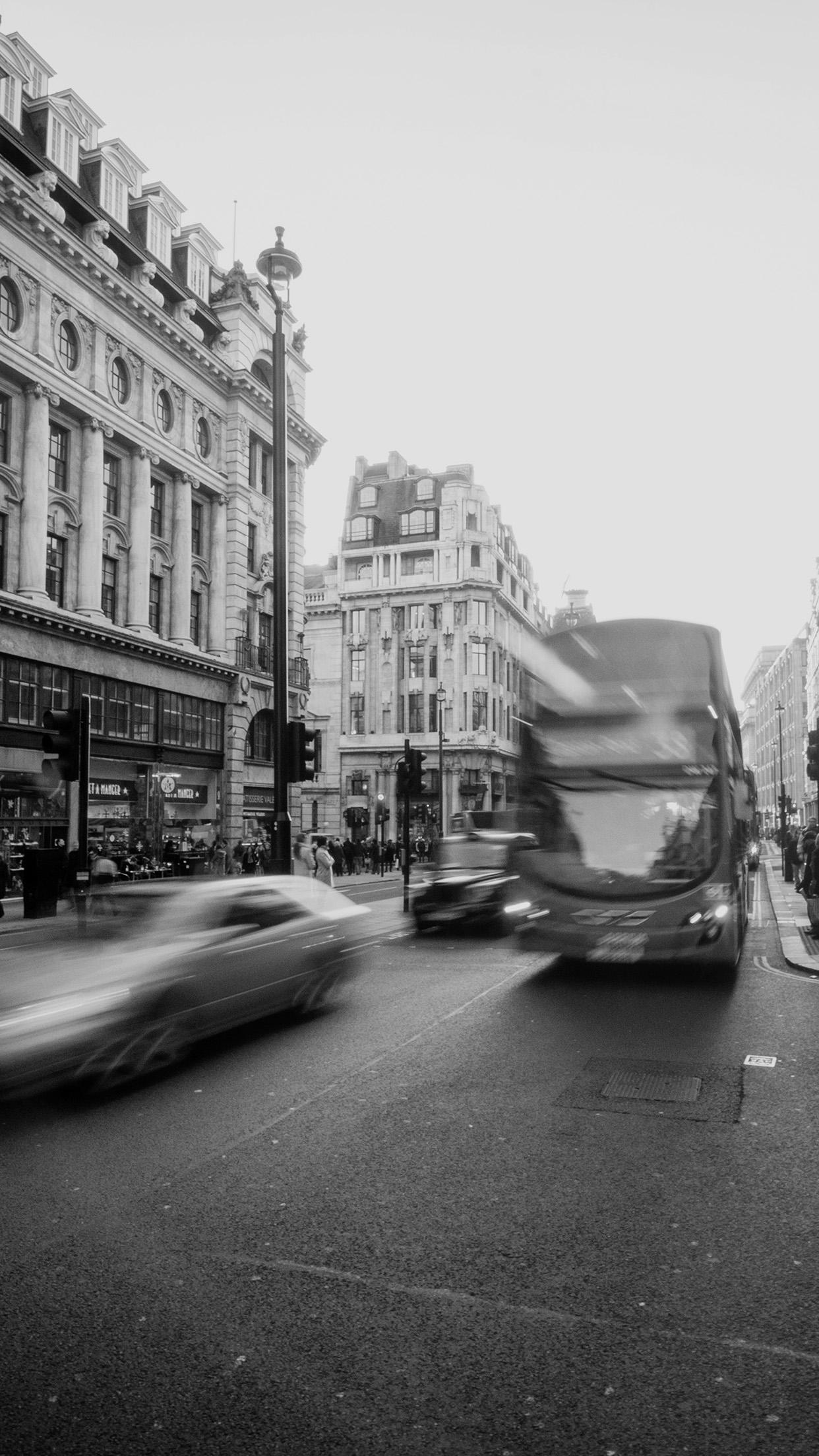 Papersco Iphone Wallpaper Mu61 London City Street