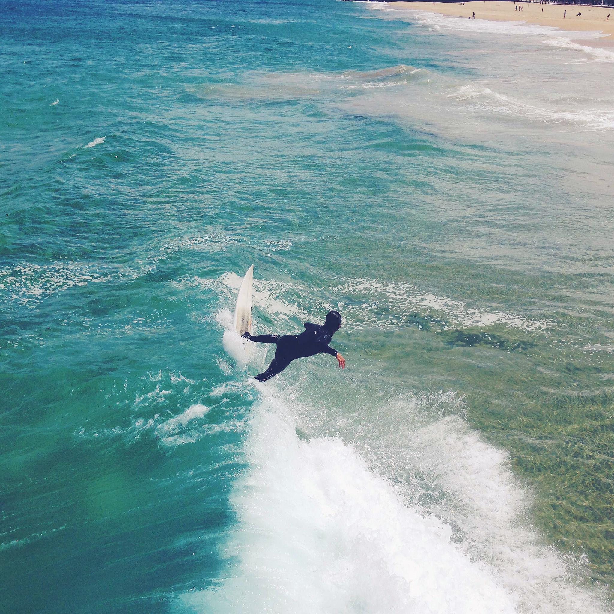 Girls Surfing Wallpaper: Mu93-summer-ocean-beach-surf-girl-nature-blue