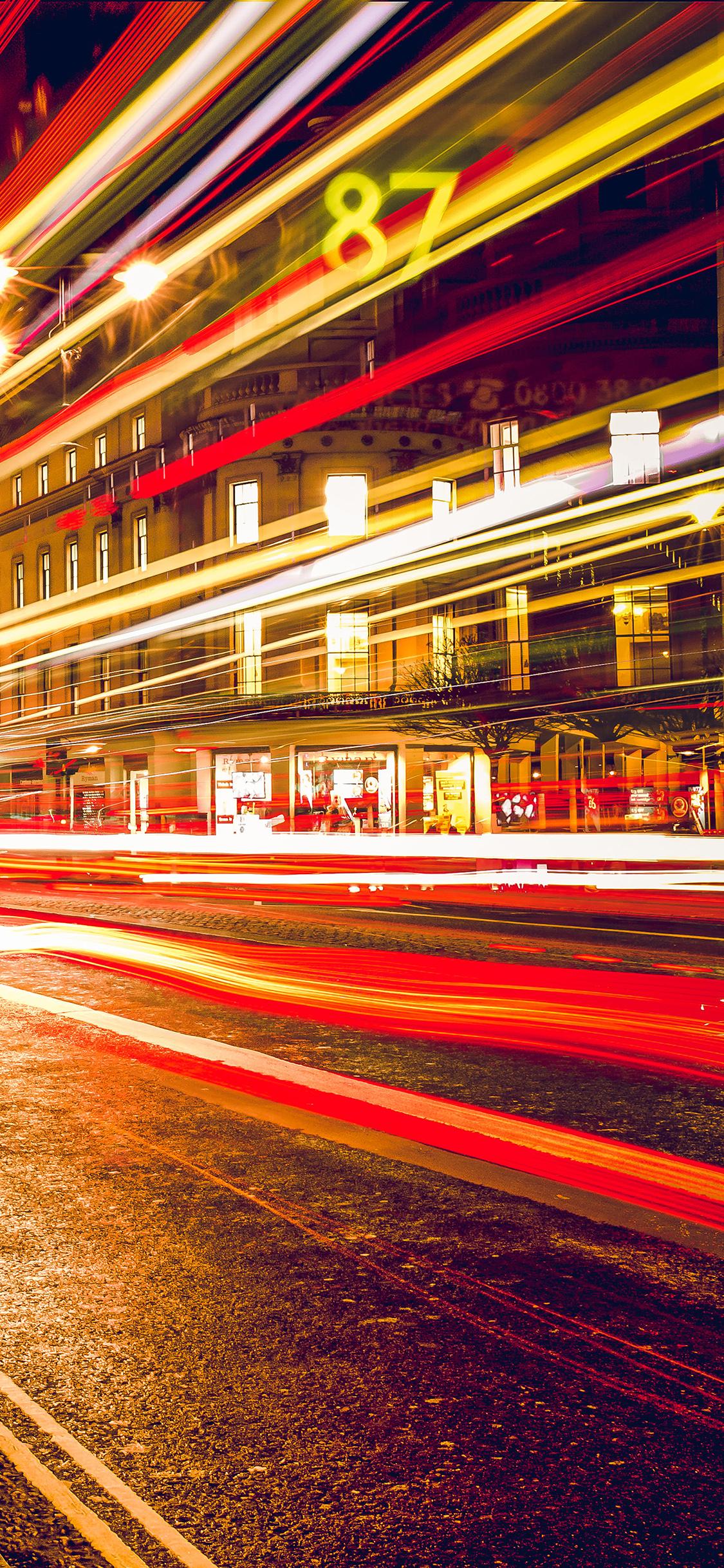 iPhoneXpapers.com-Apple-iPhone-wallpaper-mu95-london-city-car-lights-night-bokeh-red