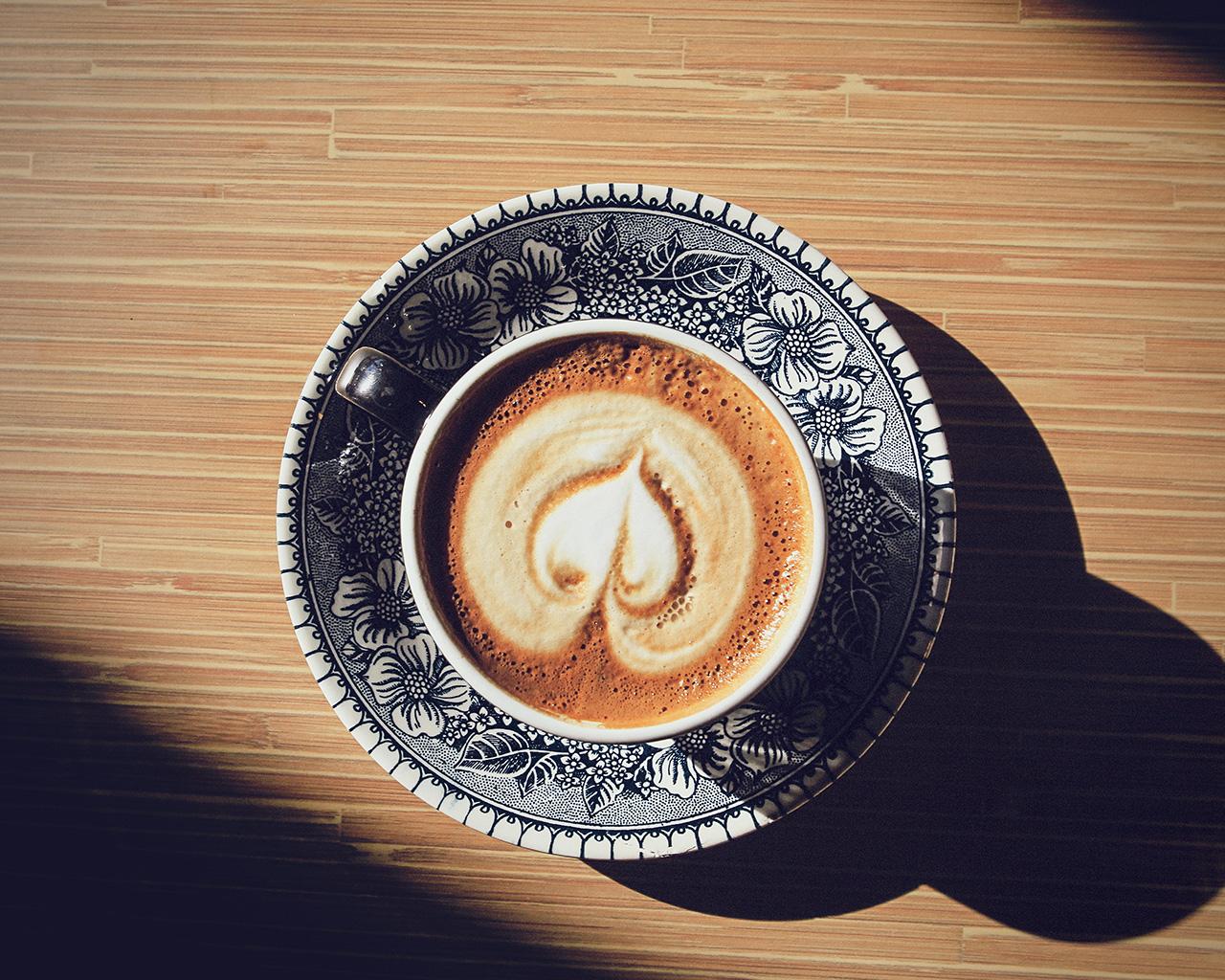 Wallpaper For Desktop Laptop Mv01 Heart Coffee