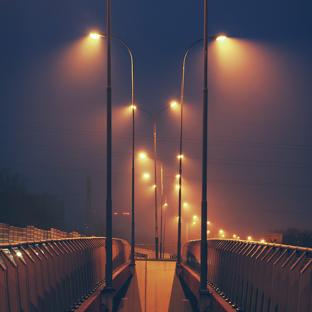 wallpaper-mv05-night-bridge-city-view-lights-street-orange-dark-wallpaper