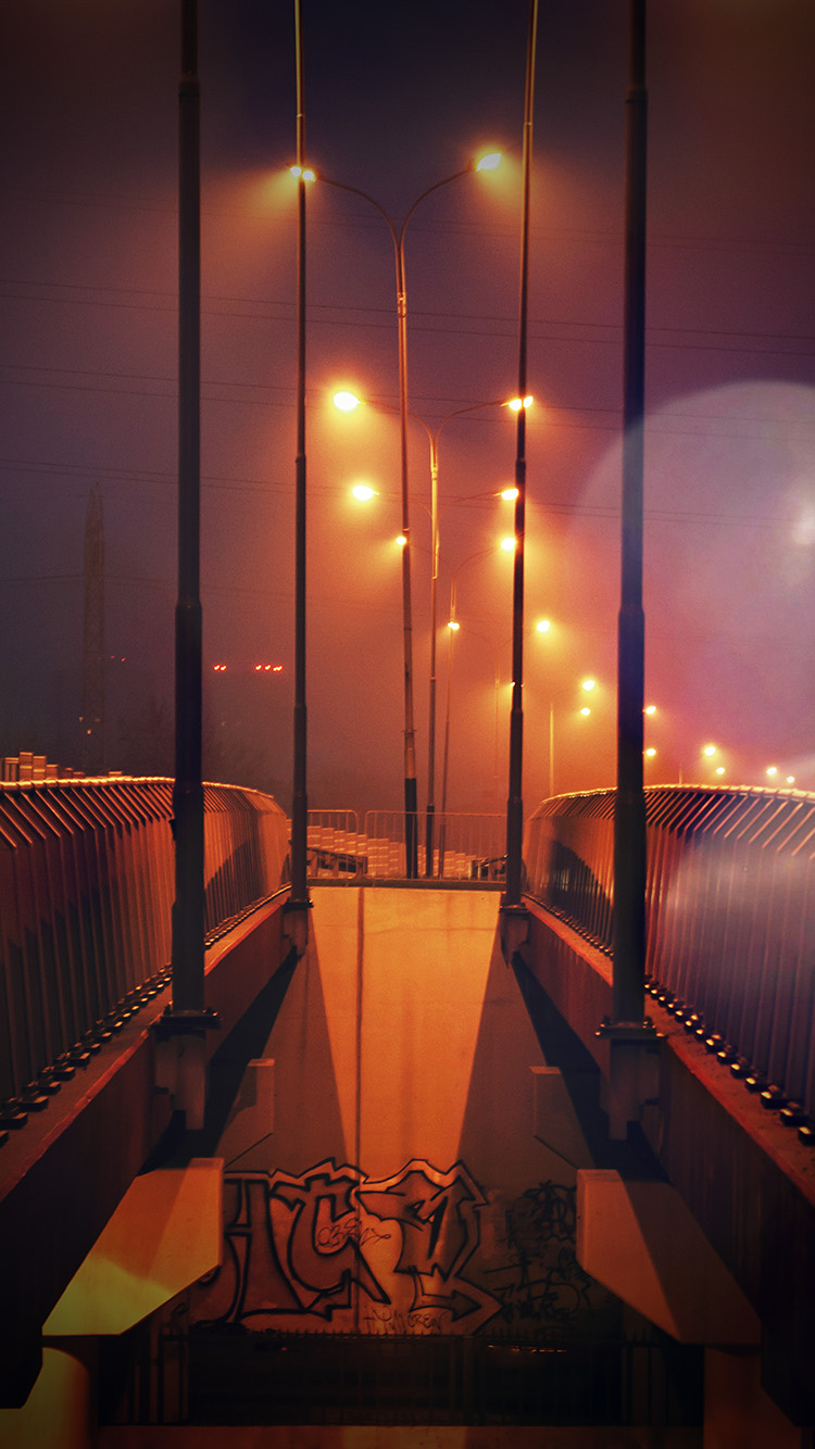 iPhone6papers.co-Apple-iPhone-6-iphone6-plus-wallpaper-mv06-night-bridge-city-view-lights-street-orange-flare