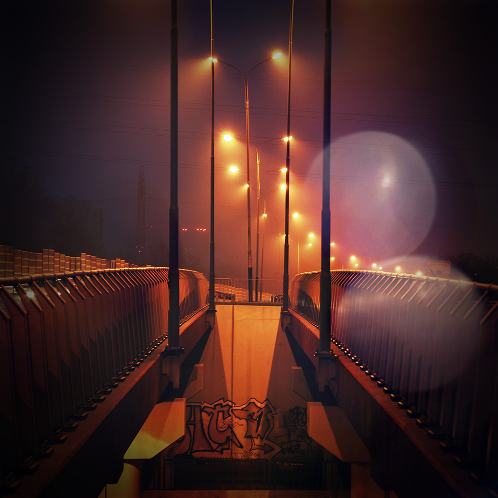 android-wallpaper-mv06-night-bridge-city-view-lights-street-orange-flare-wallpaper