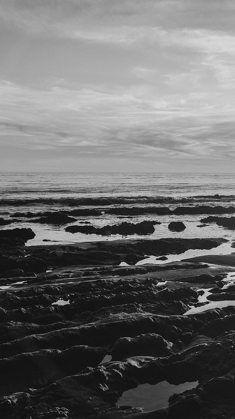 iPhone6papers.co-Apple-iPhone-6-iphone6-plus-wallpaper-mv45-ocean-sea-water-sky-sunset-afternoon-nature-dark-bw