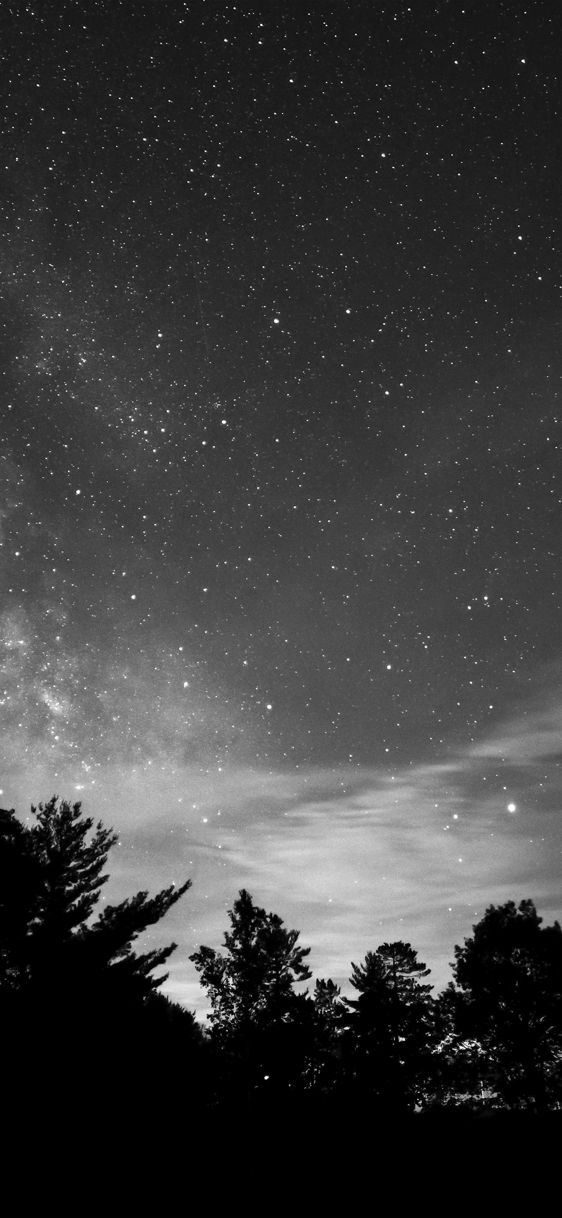 iPhonexpapers.com-Apple-iPhone-wallpaper-mv72-sky-night-star-dark-mountain-cloud-shadow-bw