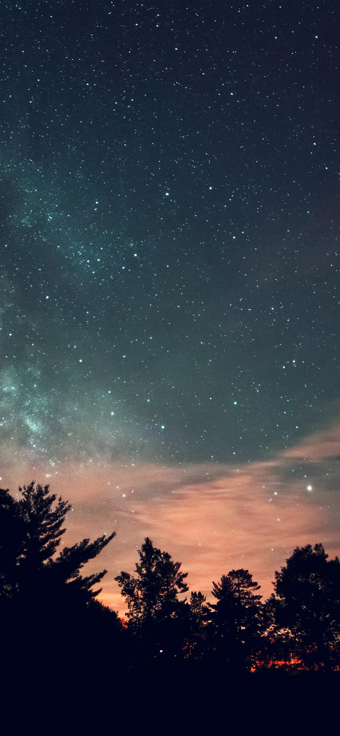 iPhoneXpapers.com-Apple-iPhone-wallpaper-mv73-sky-night-star-dark-mountain-cloud-green-blue