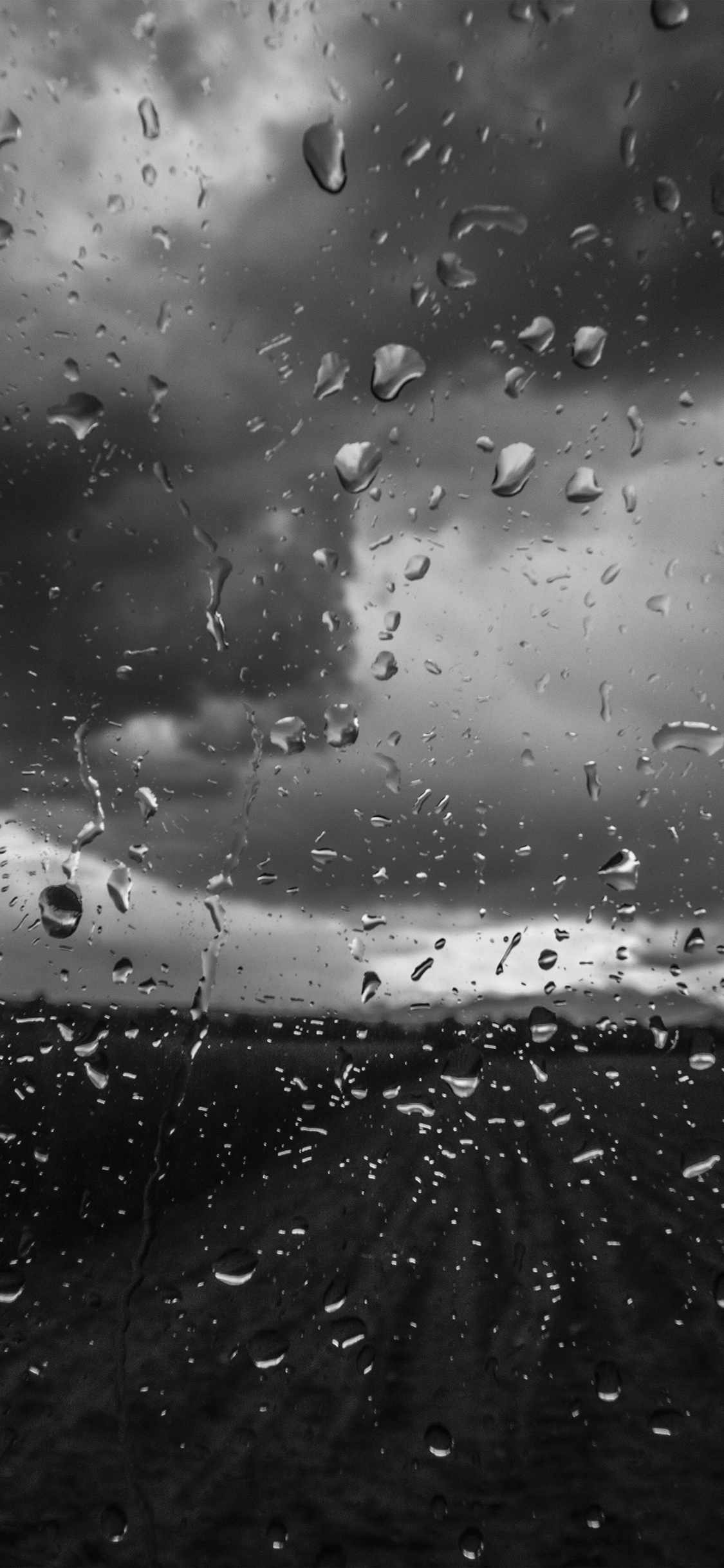 iPhonexpapers.com-Apple-iPhone-wallpaper-mv92-rainy-window-nature-water-drop-road-dark-bw