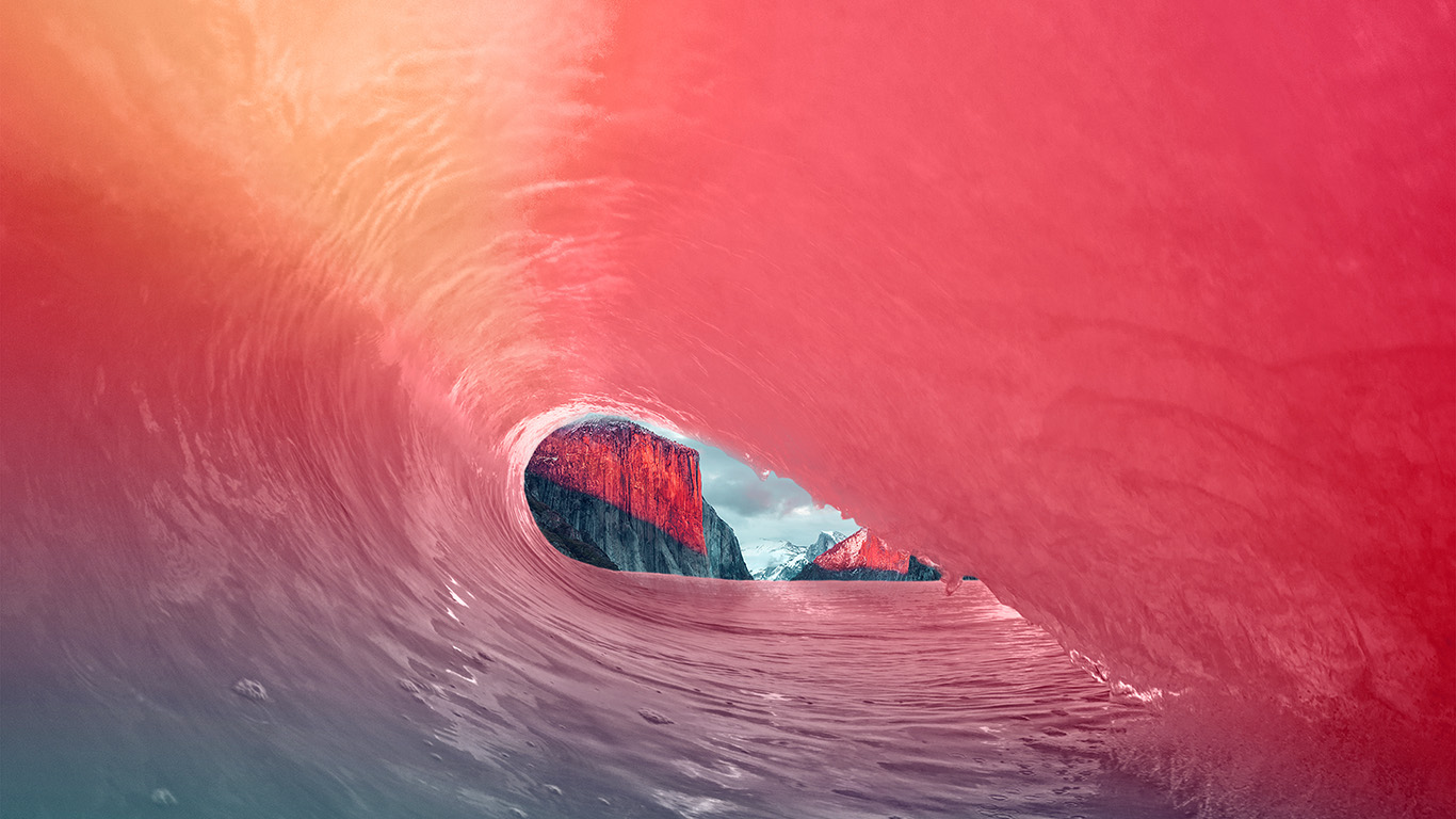 desktop-wallpaper-laptop-mac-macbook-air-mw05-apple-osx-yosemite-wave-red-rainbow-sea-blue-wallpaper