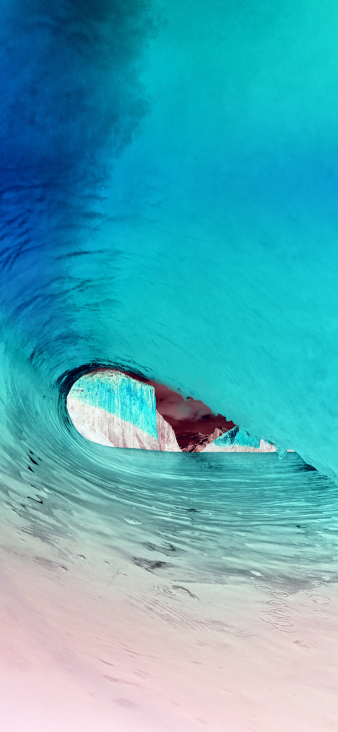 iPhonexpapers.com-Apple-iPhone-wallpaper-mw07-apple-osx-yosemite-wave-sea-blue