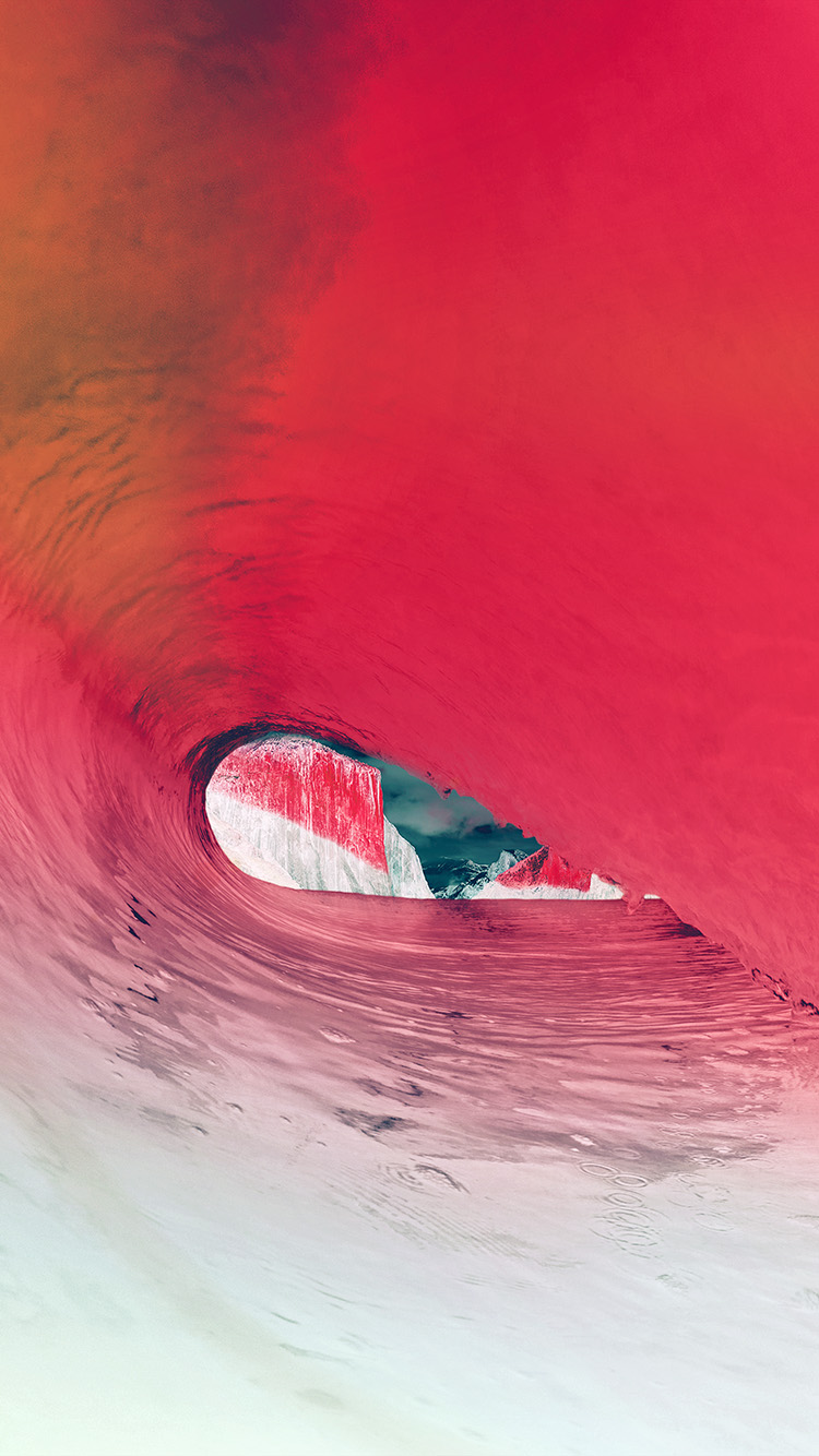 iPhonepapers.com-Apple-iPhone8-wallpaper-mw08-apple-osx-yosemite-wave-sea-red