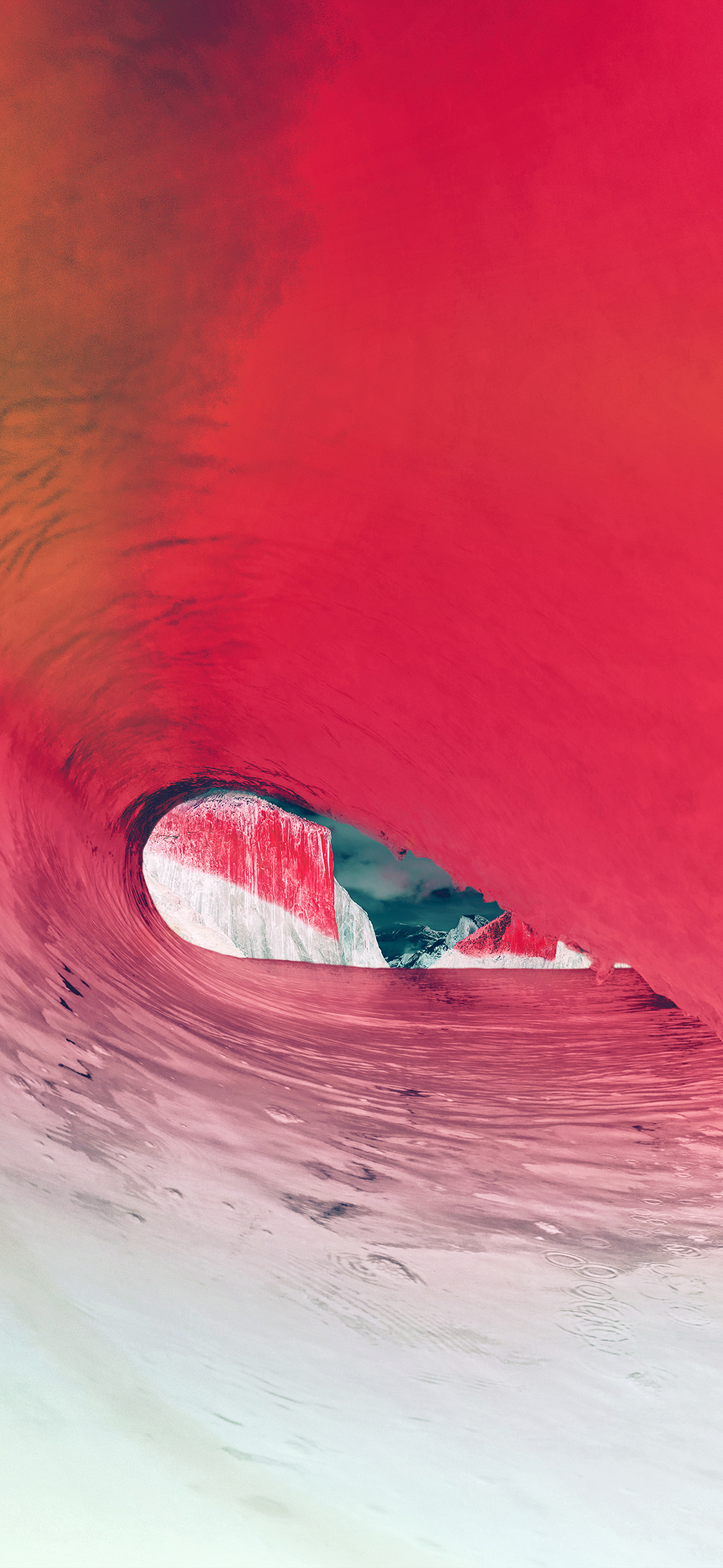 iPhoneXpapers.com-Apple-iPhone-wallpaper-mw08-apple-osx-yosemite-wave-sea-red