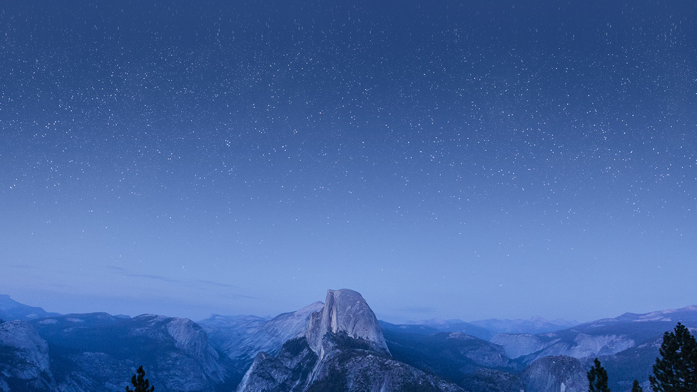 desktop-wallpaper-laptop-mac-macbook-airmw09-el-capitan-mountain-wood-night-sky-star-blue-wallpaper