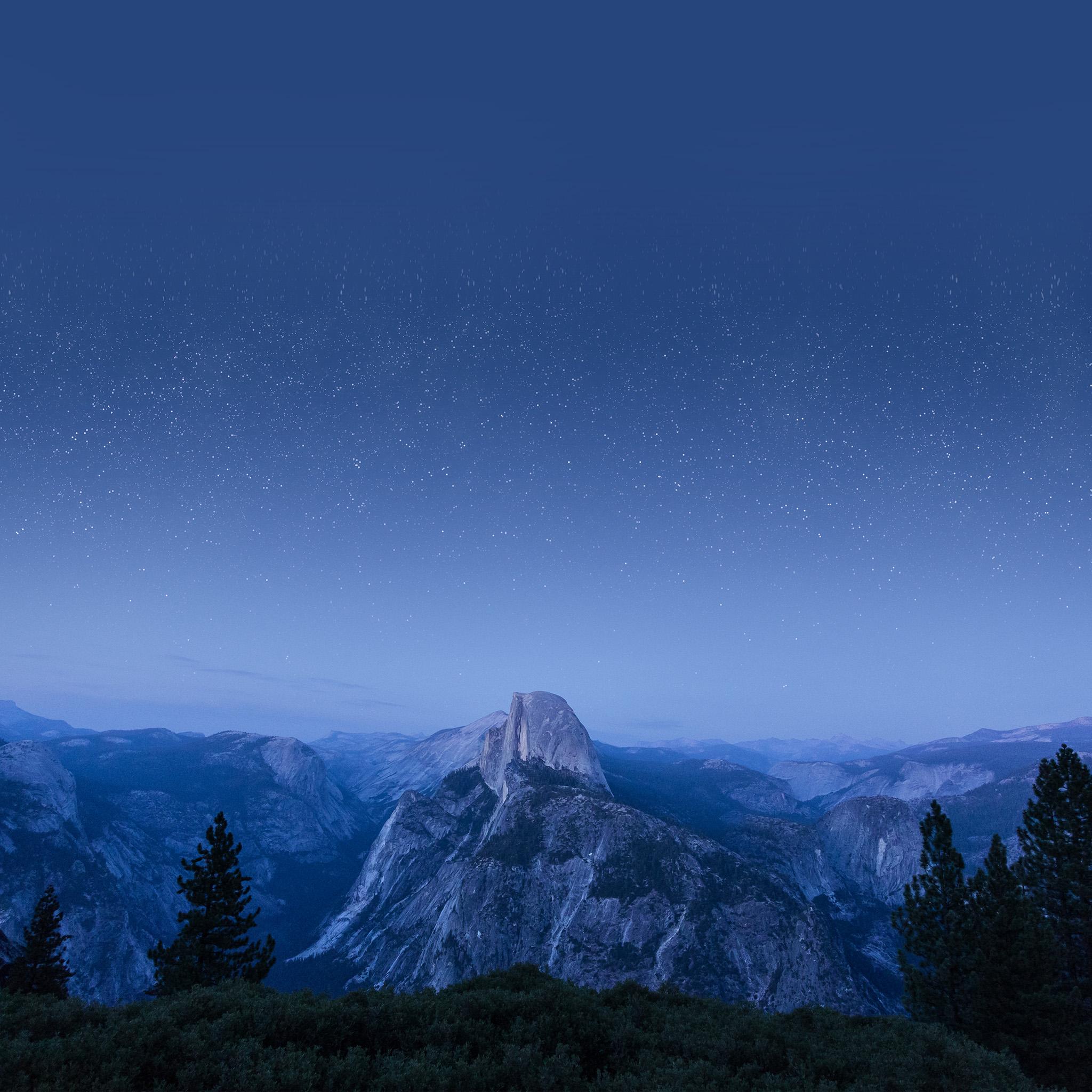 stars mountain night - photo #39
