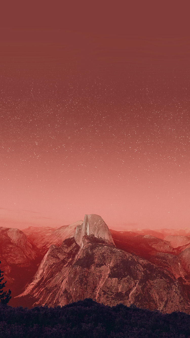 iPhone6papers.co-Apple-iPhone-6-iphone6-plus-wallpaper-mw11-el-capitan-mountain-wood-night-sky-star-red-fire