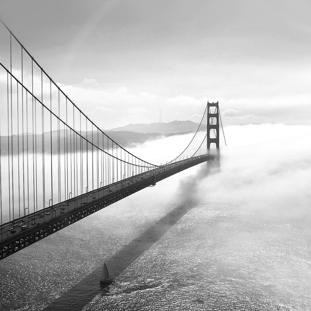 wallpaper-mw45-bridge-river-city-lake-boat-fog-nature-bw-dark-wallpaper