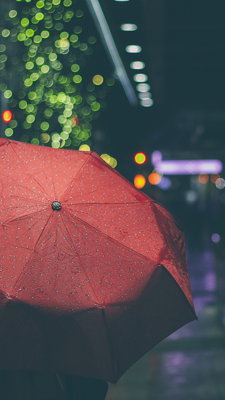iPhonepapers.com-Apple-iPhone8-wallpaper-mw52-rainyday-umbrella-bokeh-city-night-dark