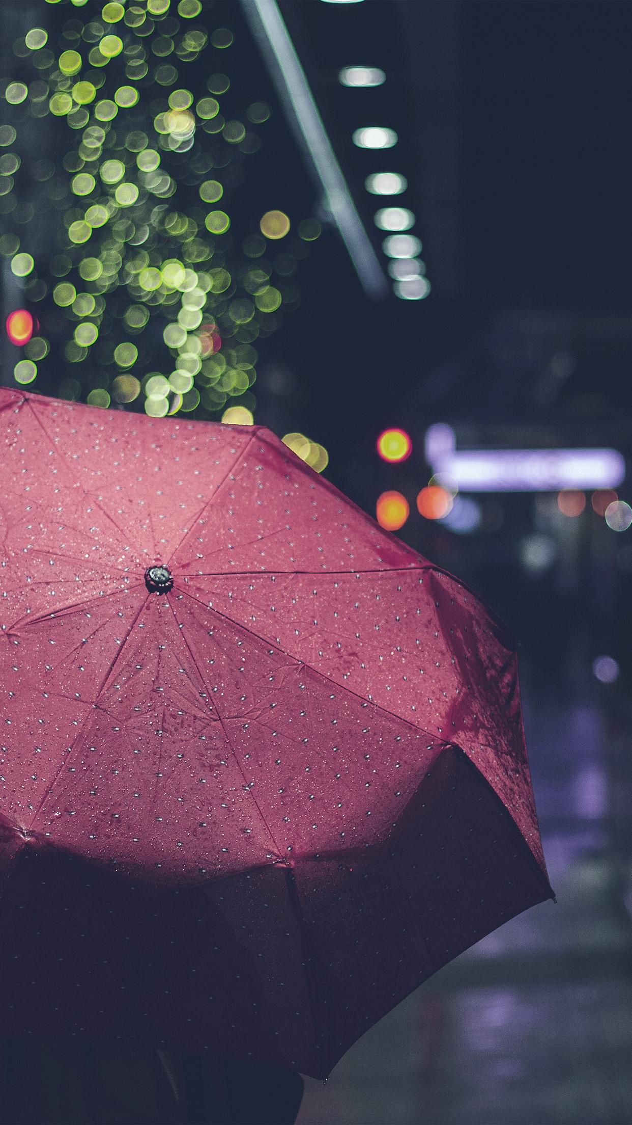 Iphone Wallpaper Rain City