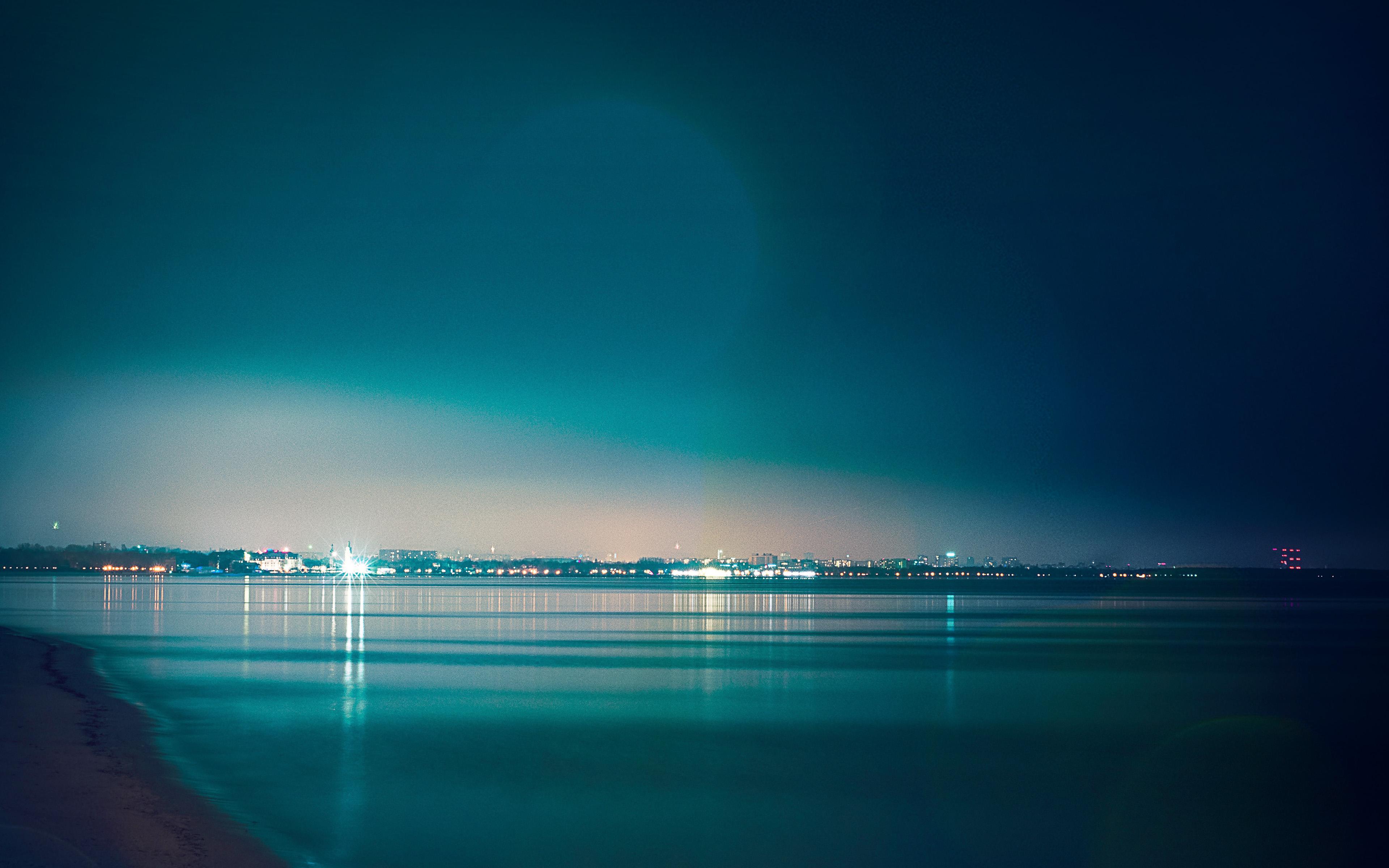 mw57-lake-city-view-night-dark-nature ...