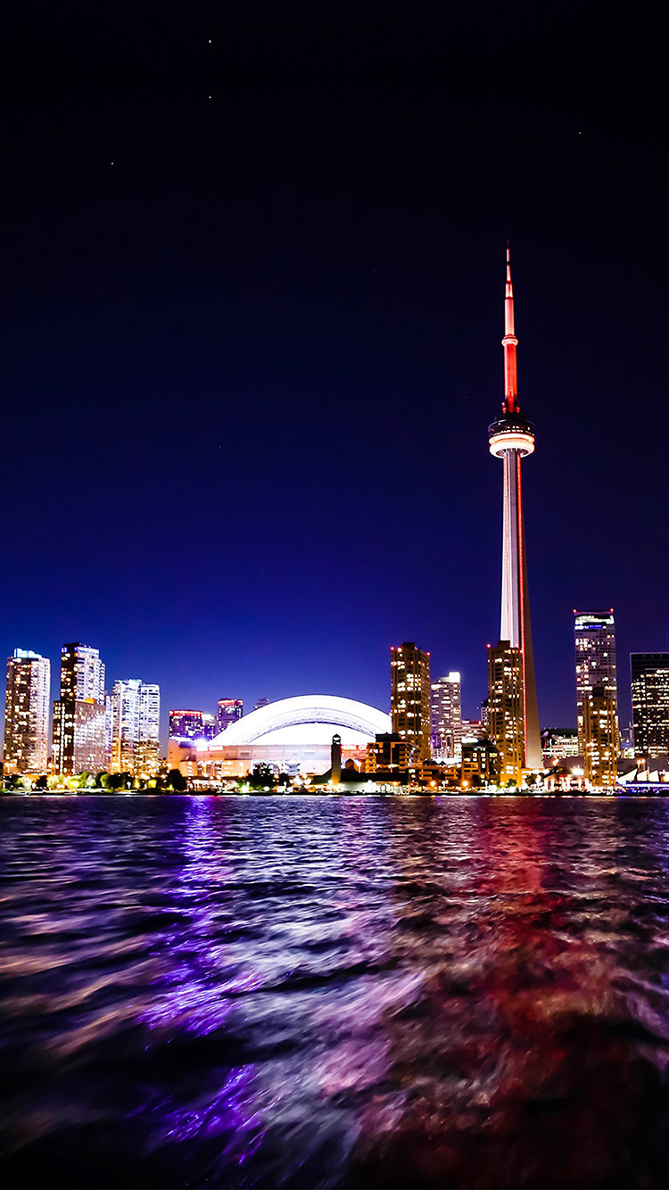 iPhonepapers.com-Apple-iPhone8-wallpaper-mw70-toronto-lake-canada-city-night-view