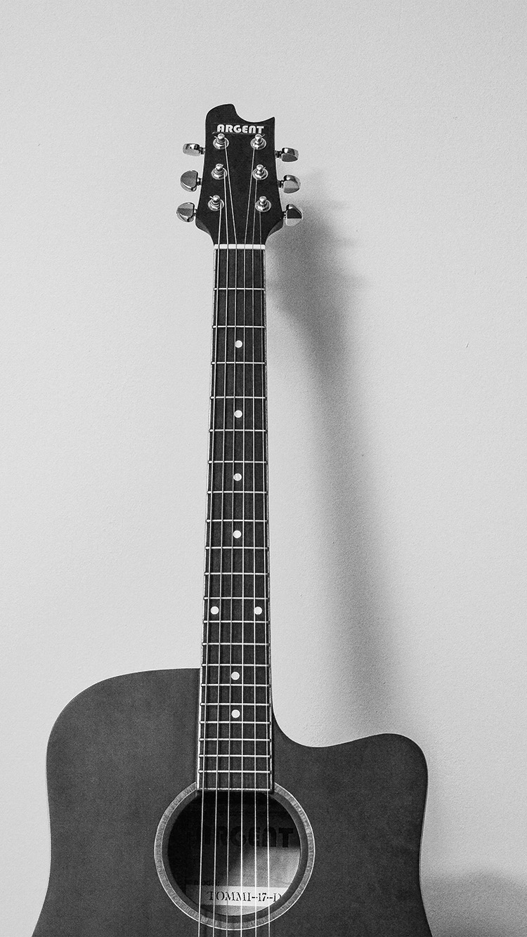 iPhonepapers.com-Apple-iPhone8-wallpaper-mw79-guitar-art-bw-dark-music-song