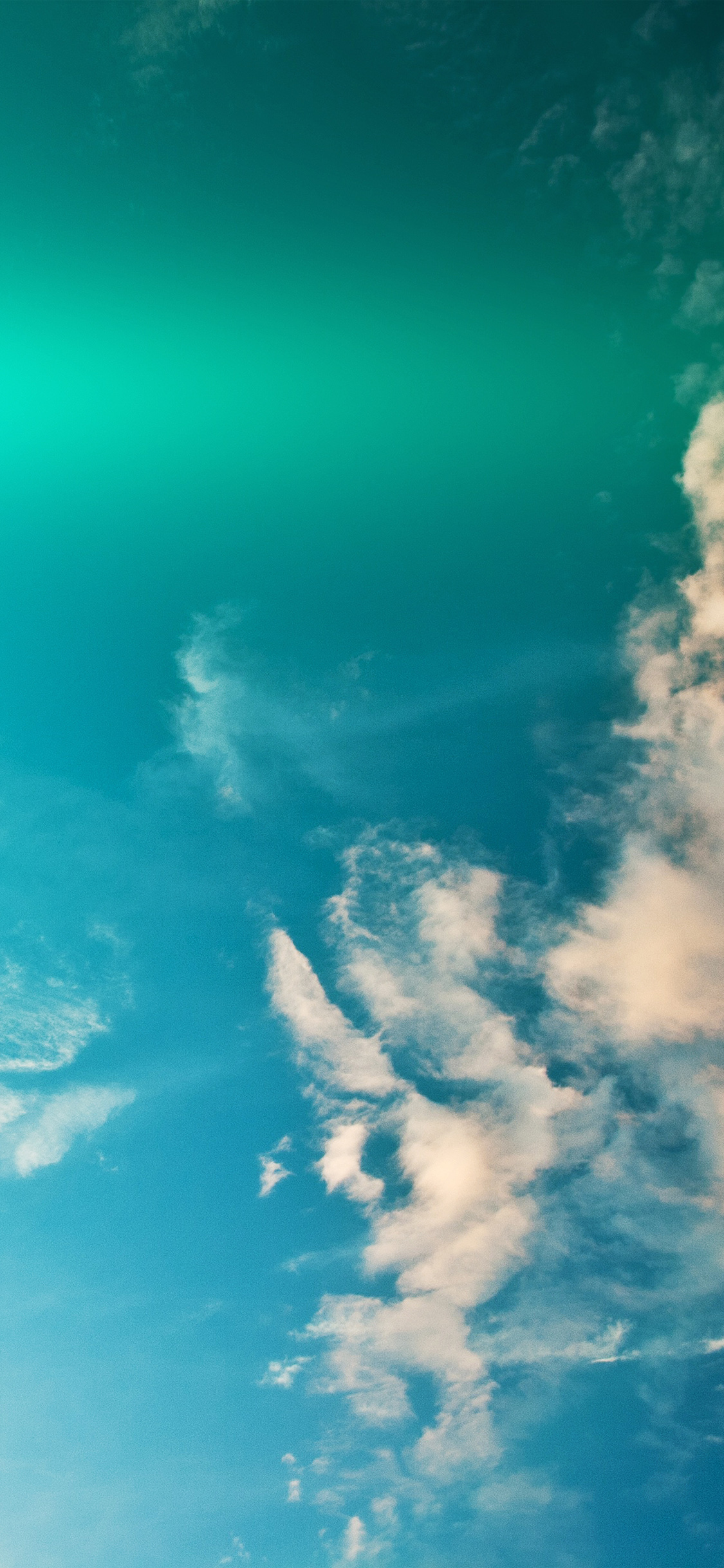 iPhonexpapers.com-Apple-iPhone-wallpaper-mw90-sky-blue-green-cloud-sunny-clear-nature-flare