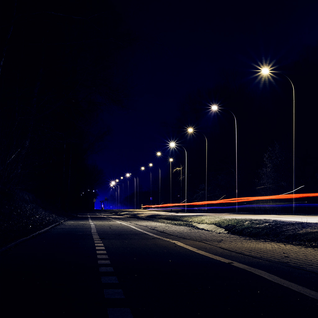 Night Car City Wallpaper