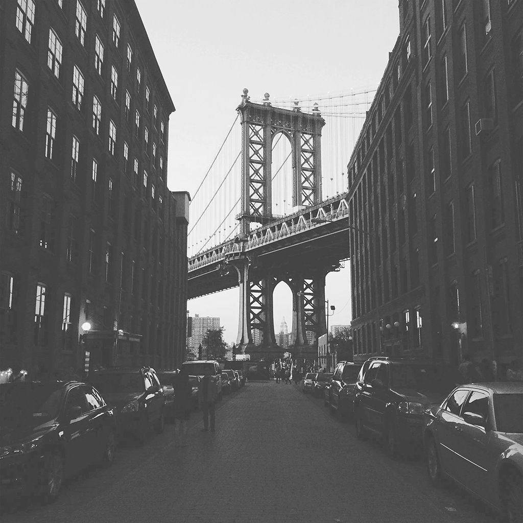 wallpaper-mx43-newyork-bridge-city-building-architecture-street-bw-wallpaper