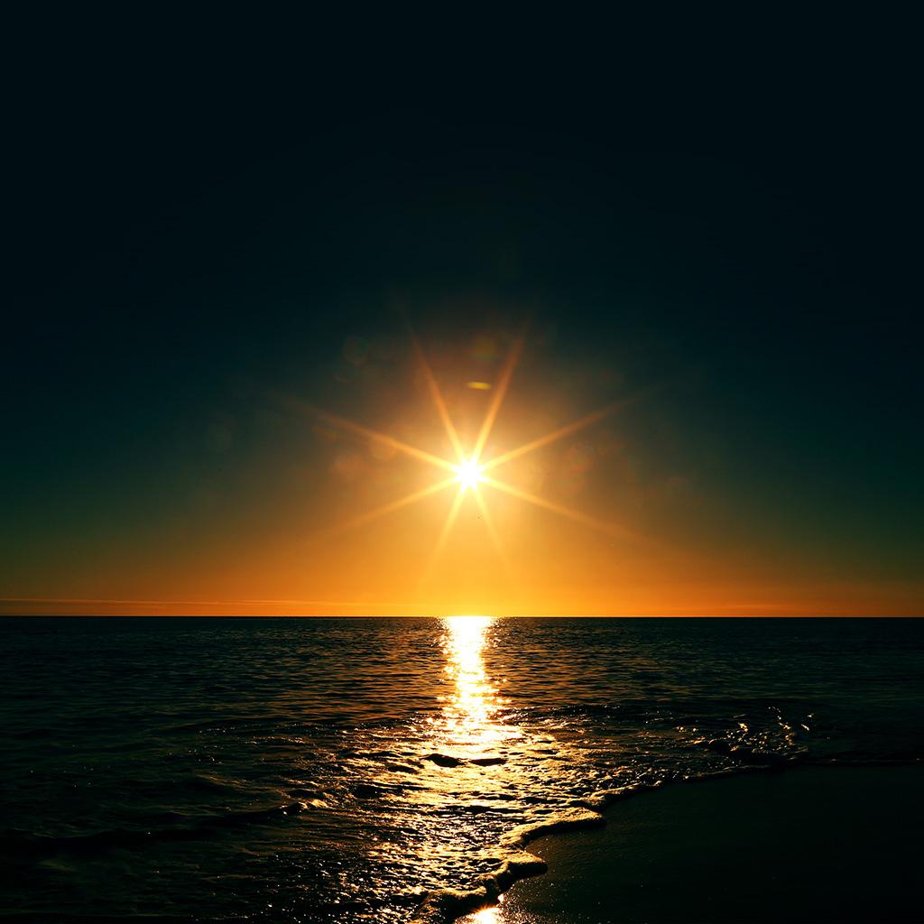 sunset beach nature sea - photo #7