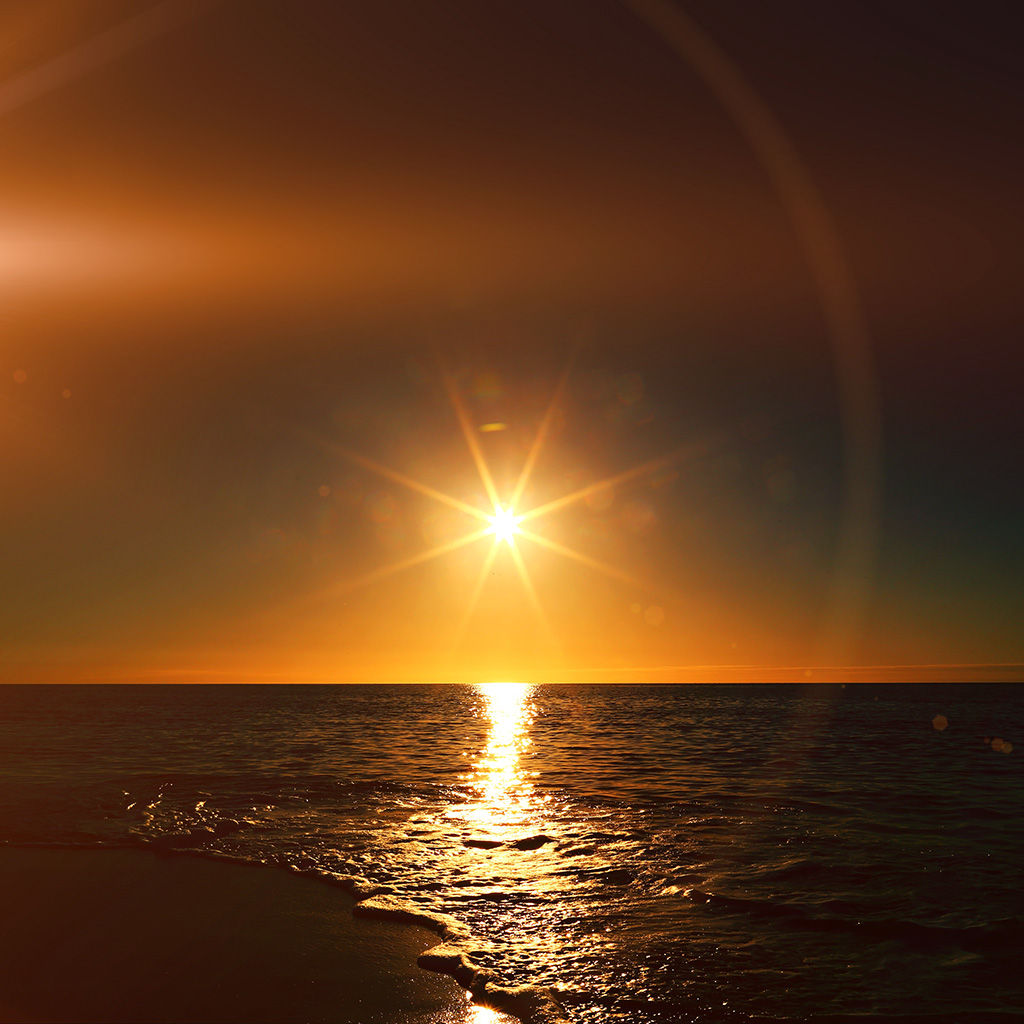 android-wallpaper-mx57-sunset-beach-sea-nature-sky-flare-wallpaper