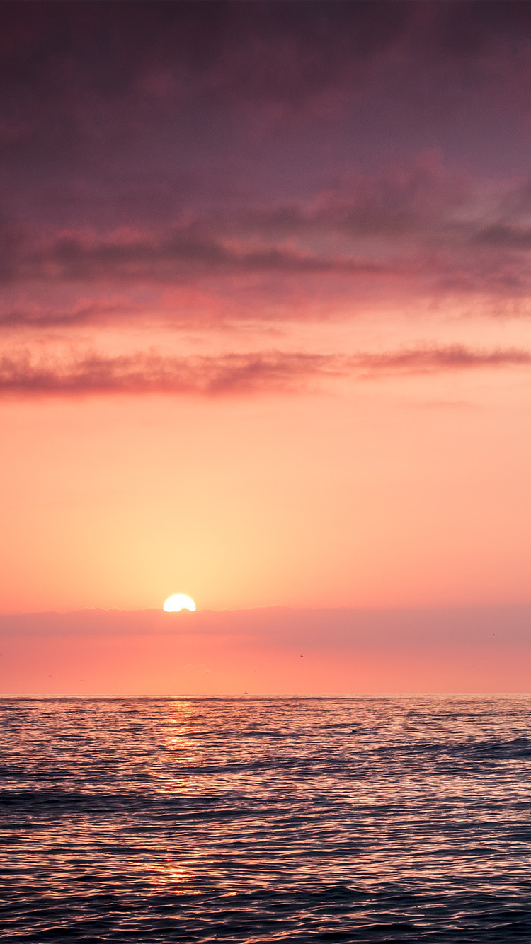 iPhone6papers.co-Apple-iPhone-6-iphone6-plus-wallpaper-mx94-sunset-sea-beach-sky-red