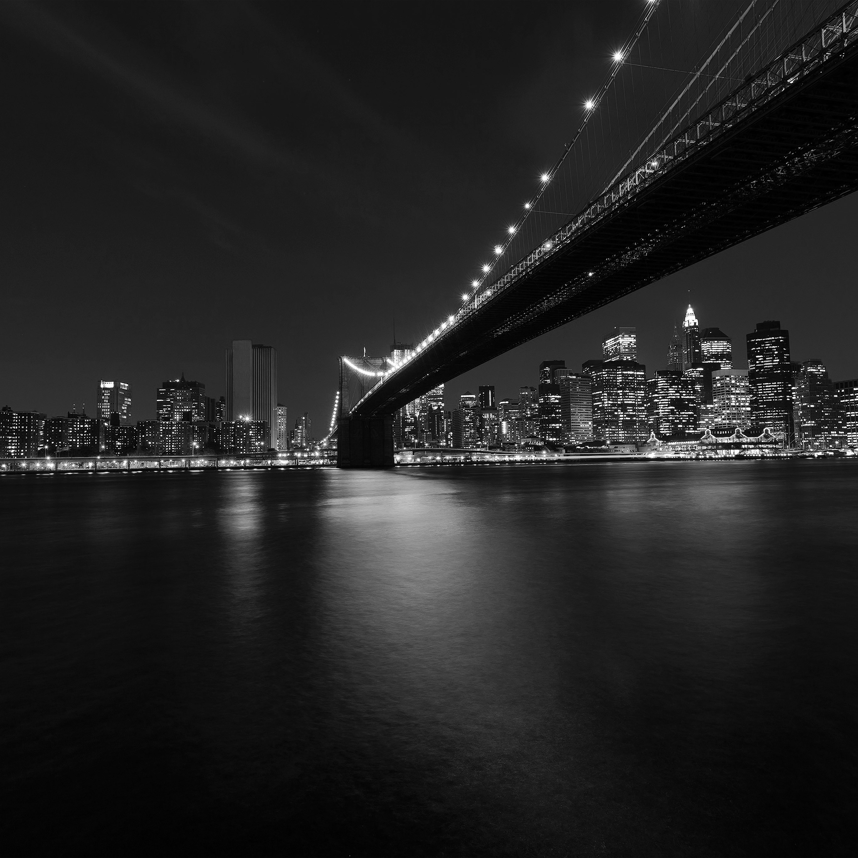 My05-city-night-river-view-nature-dark-bw-black-wallpaper