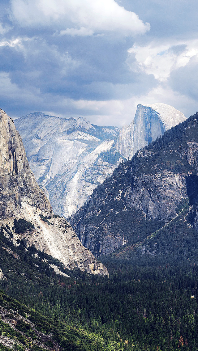 freeios8.com-iphone-4-5-6-plus-ipad-ios8-my08-yosemite-mountain-nature-rock-sky-forest-cloud-blue