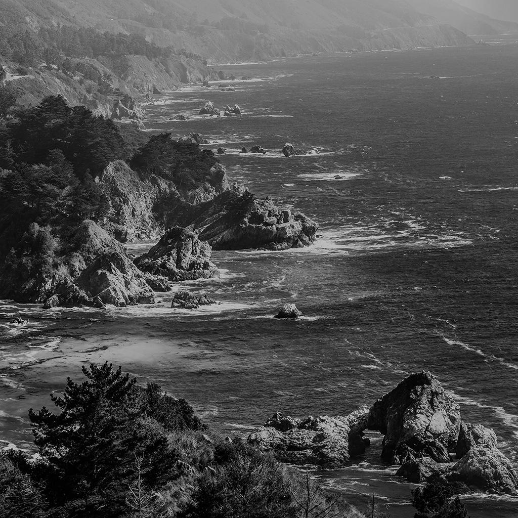 my16-sea-ocean-rock-nature-mountain-summer-dark-bw-wallpaper