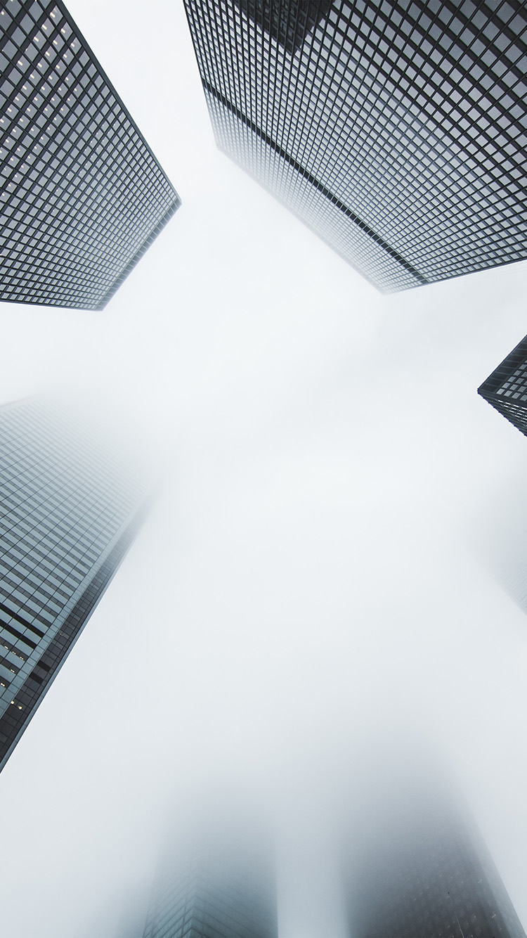 Papers.co-iPhone5-iphone6-plus-wallpaper-my17-city-fog-building-architecture-simple