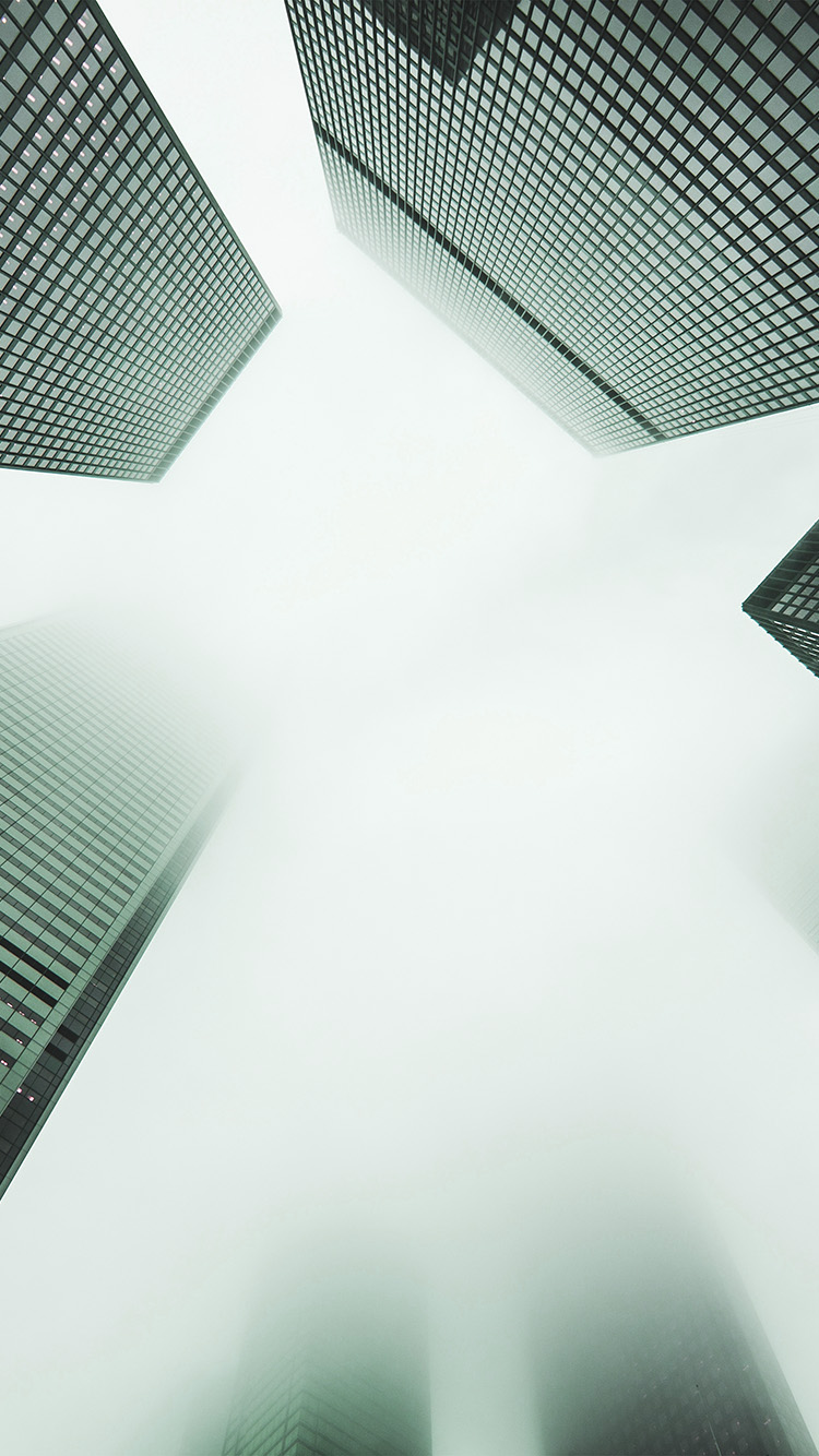 iPhonepapers.com-Apple-iPhone8-wallpaper-my18-city-fog-building-architecture-simple-green