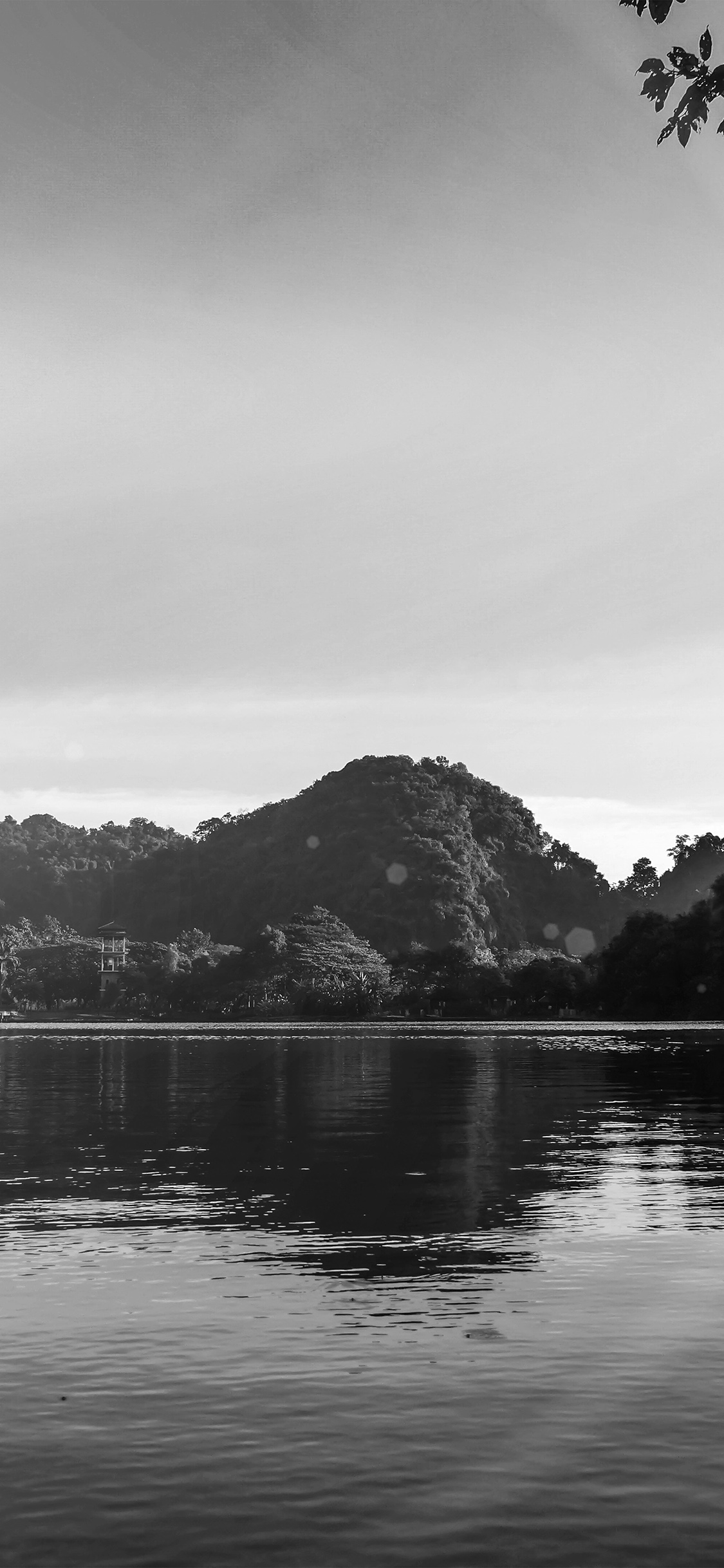 iPhoneXpapers.com-Apple-iPhone-wallpaper-my28-nature-river-lake-mountain-tree-vacation-flare-bw