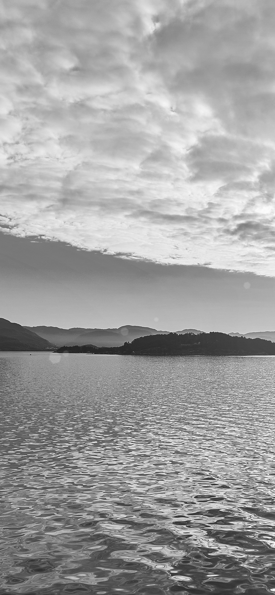iPhonexpapers.com-Apple-iPhone-wallpaper-my56-lake-mountain-summer-nature-blue-healing-cloud-bw