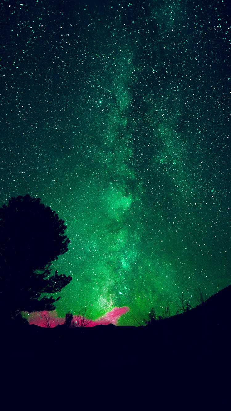 Papers.co-iPhone5-iphone6-plus-wallpaper-my60-aurora-night-sky-star-space-nature-green