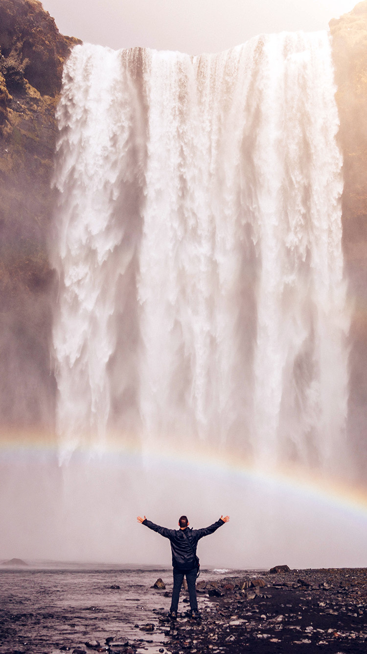 iPhonepapers.com-Apple-iPhone8-wallpaper-my74-waterfall-rainbow-nature-mountain