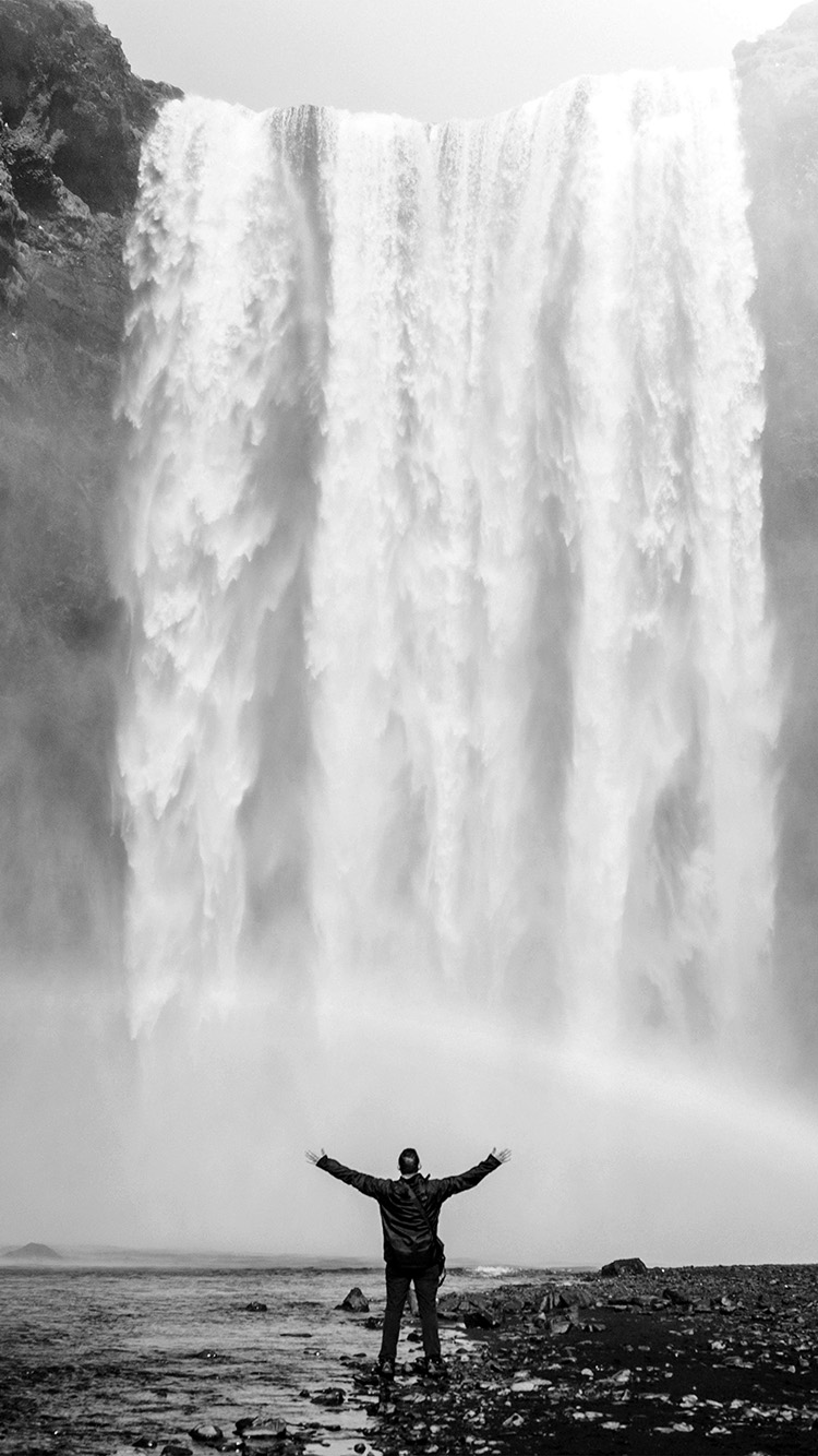 iPhonepapers.com-Apple-iPhone8-wallpaper-my75-waterfall-rainbow-nature-mountain-bw-dark
