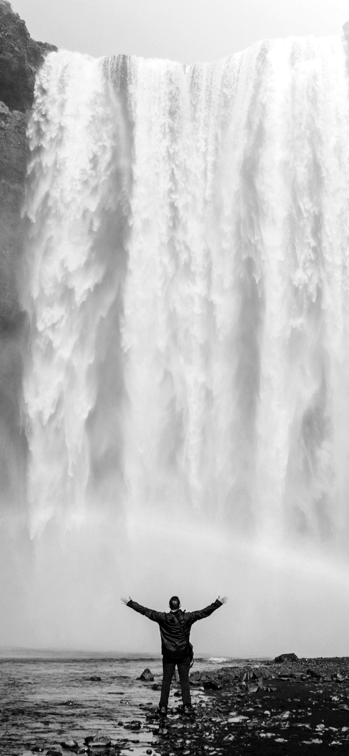 iPhoneXpapers.com-Apple-iPhone-wallpaper-my75-waterfall-rainbow-nature-mountain-bw-dark